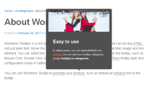 Products – WordPress Tooltips Pro Plugin