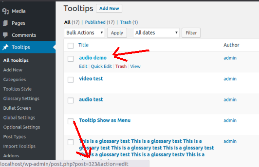 tooltip shortcode | Wordpress Tooltips Pro Plugin