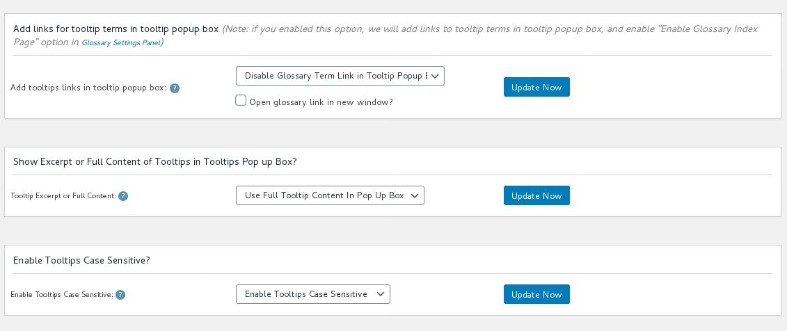 open glossary term link in new window